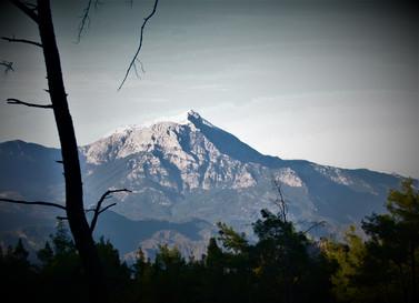 View to Lycian Mt Olympos (Tahtalı)