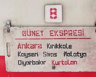 ankara kurtaln train board kurtalan ekspresi
