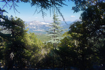 View back towards Caltepe