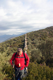 Delikkemer Aqueduct, part of the Lycian Way