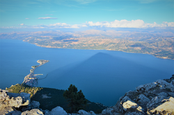 Mt Sivri View of Egirdir Lake