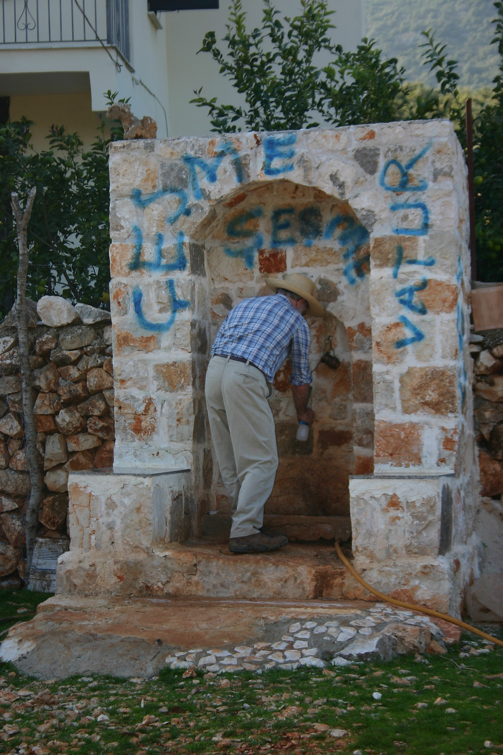 Water availabe in Bogazcik on Lycian Way