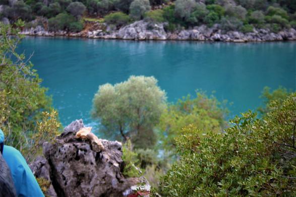 The Turquoise waters of Gokkaya