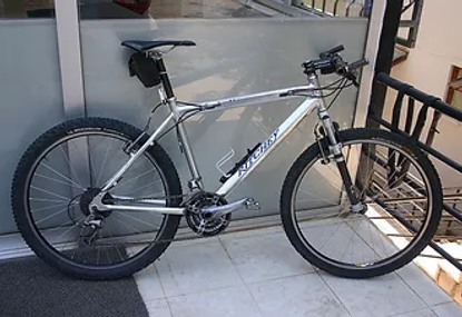 Mountain bike for rent in Turkey