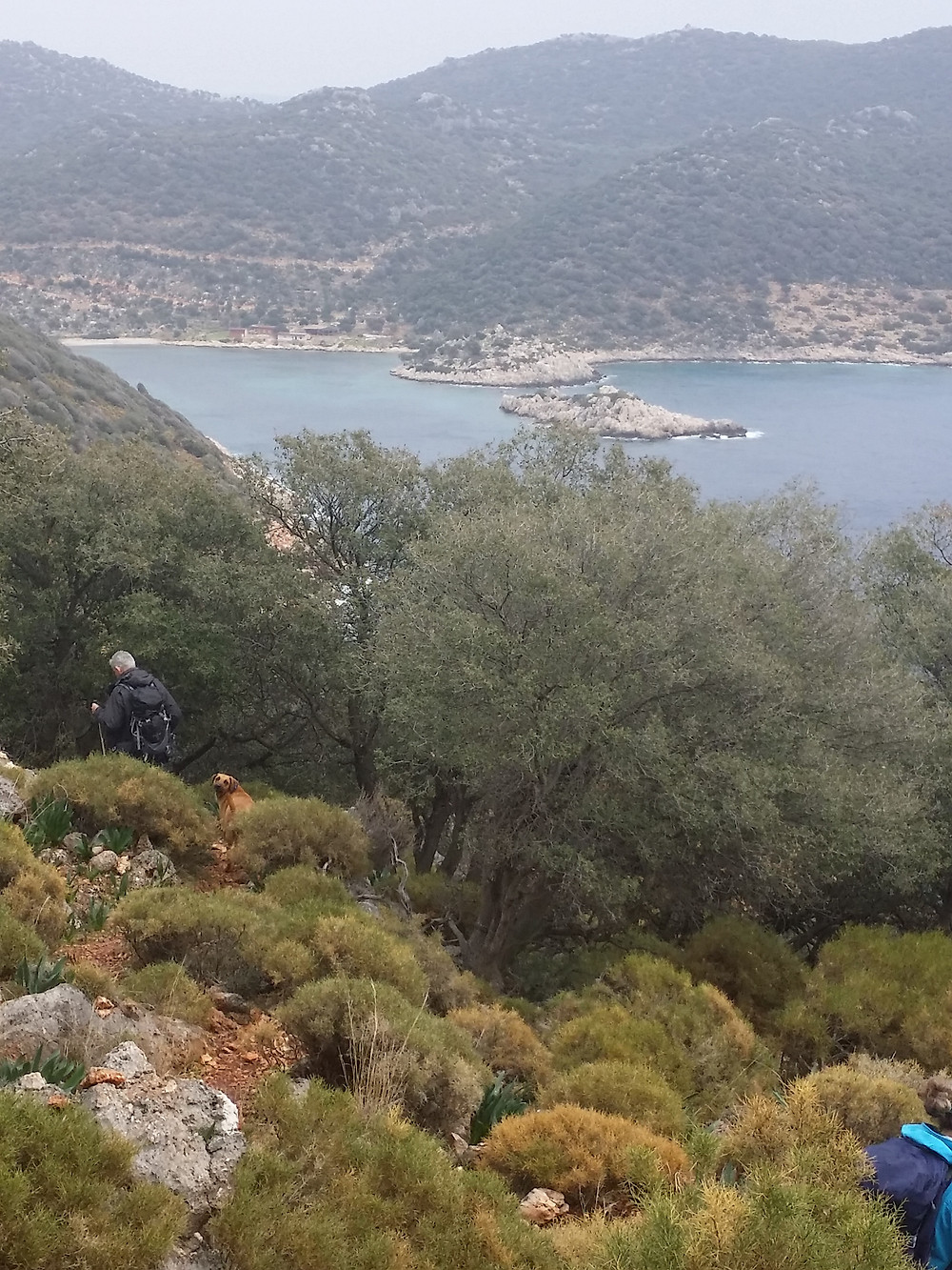 Lycian way Ufakdere trek