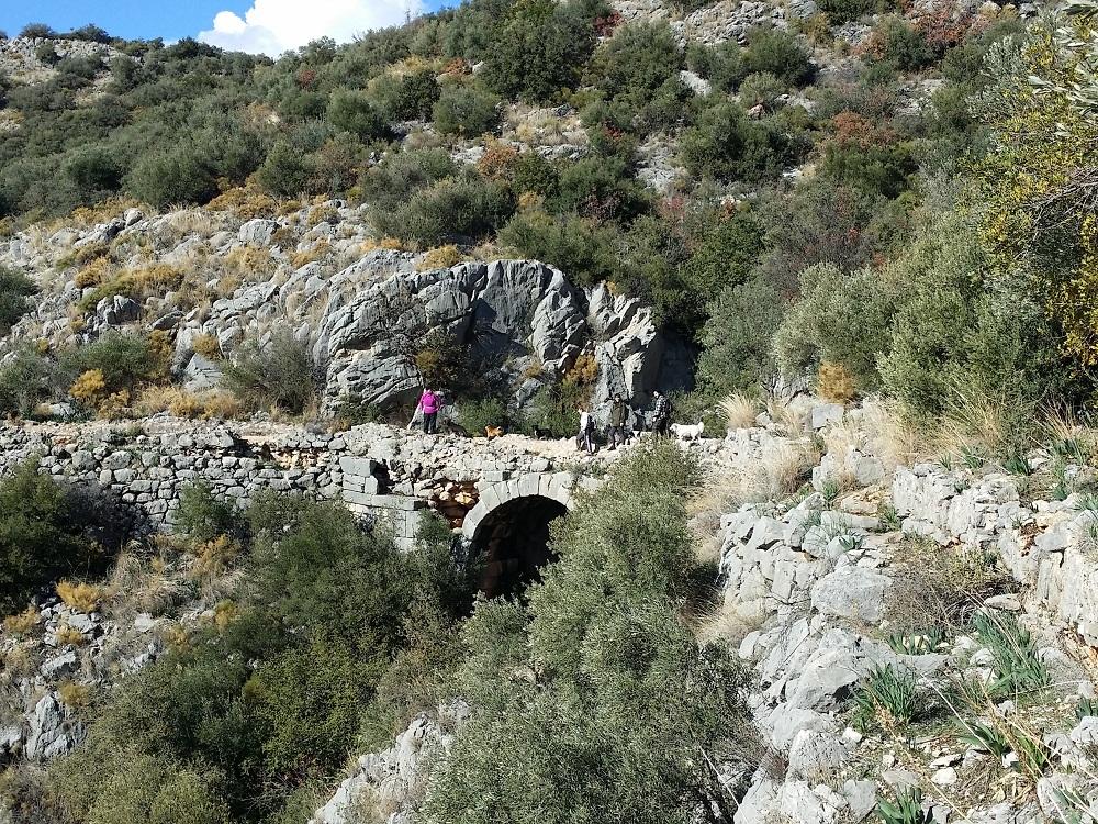 Xanthos Kemer Likya yolu