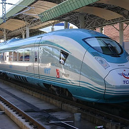 Siemens Turkish high speed train