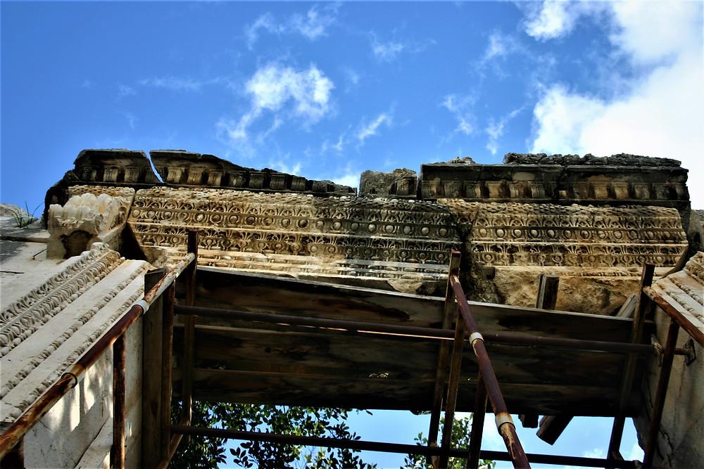 Lycian Style Doorway of Patara Temple