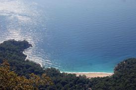 Paradise cove. Cenent Koyu in Lycia