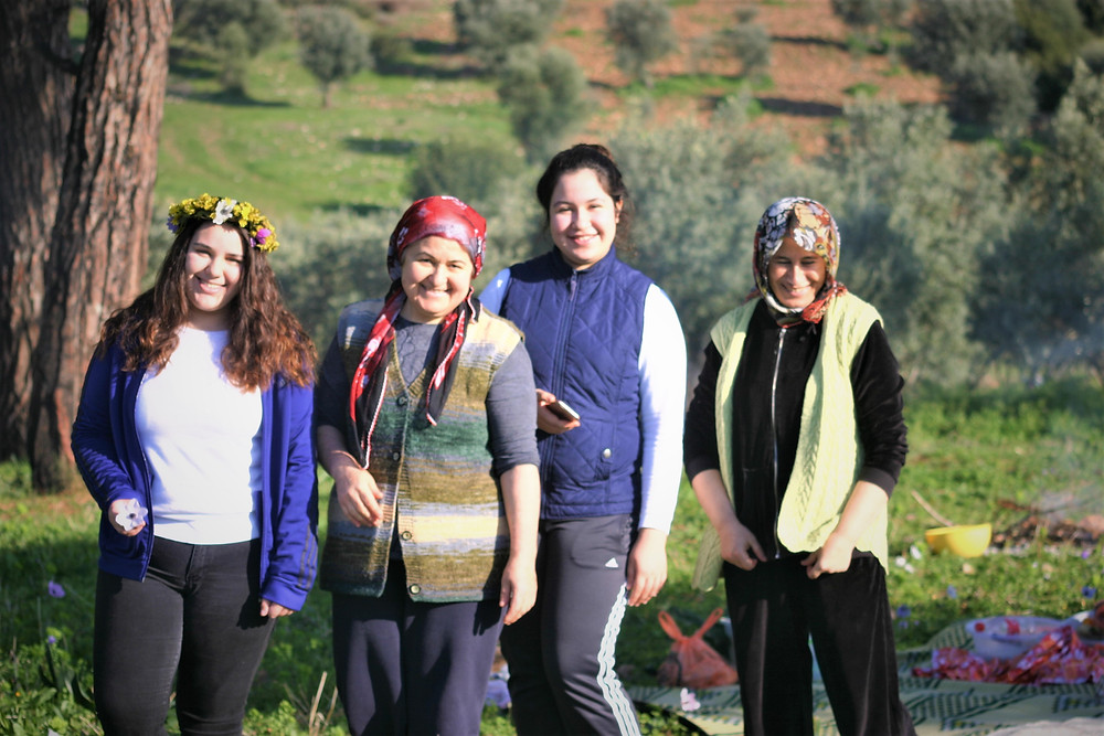 A happy Turkish Family in Lycia