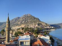 Mt Sivri and Egirdir town from Fulya Pansiyon