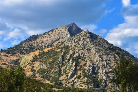 Mt Sivri from Akpinar village