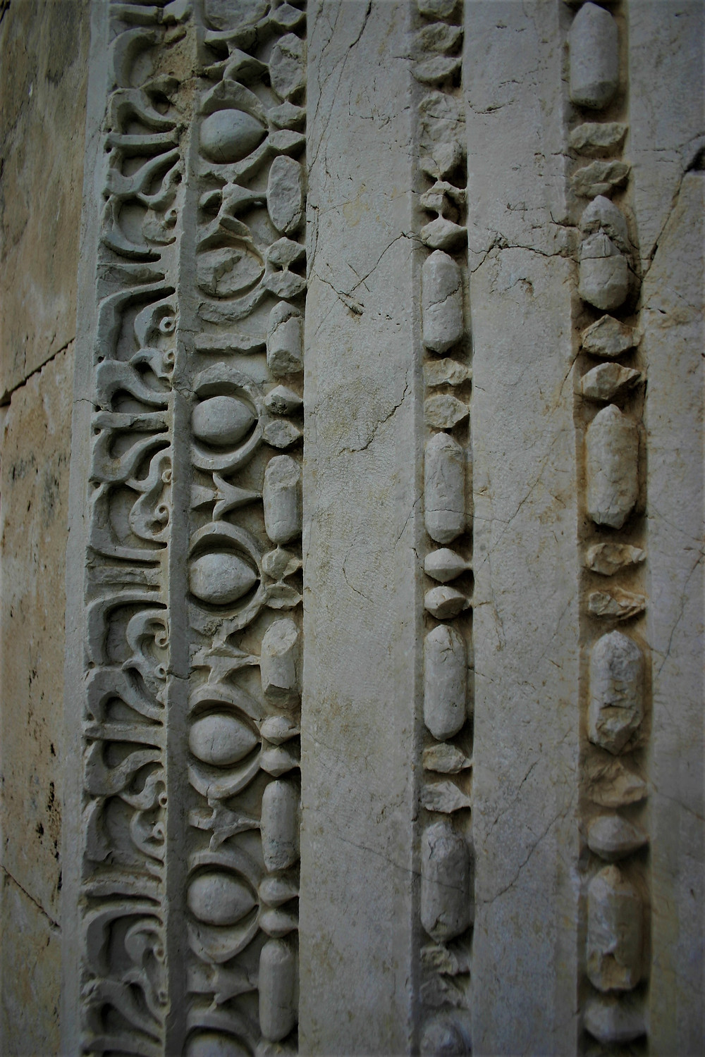 Intricate carving at Patara Temple