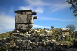 Tomb at the eastern necropolis of