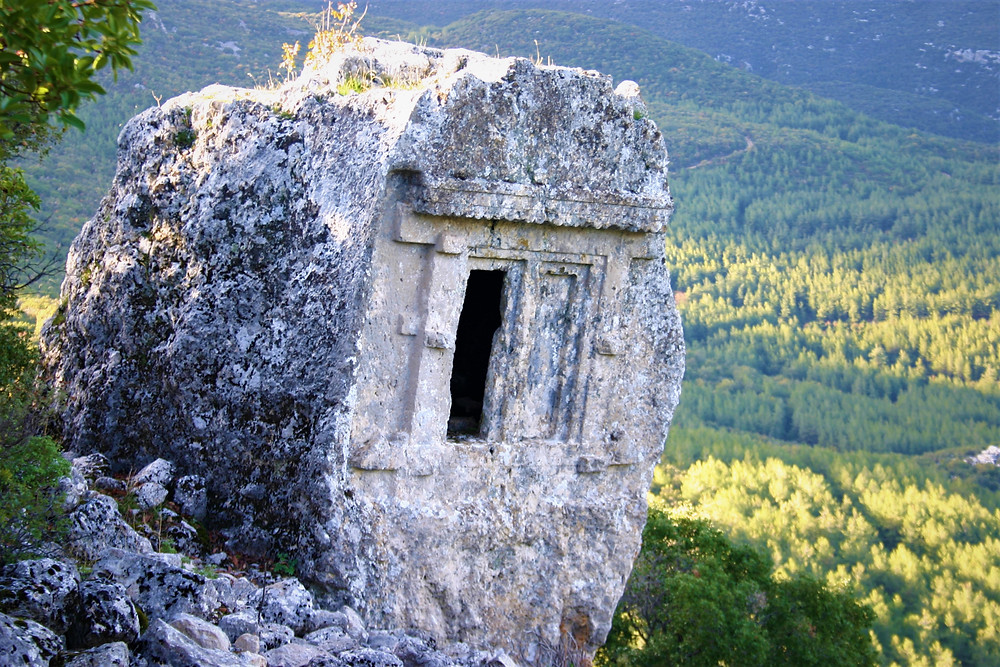 Lycian House Type Tomb at Phellos