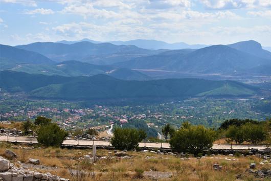 View of Aglasun from Sagalassos