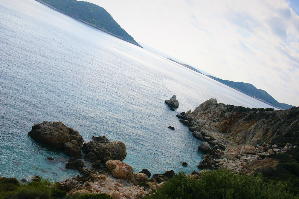 kalkan islands on the Lycian Coast