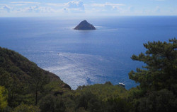 Lycian Way Island Tekirova  Cirali