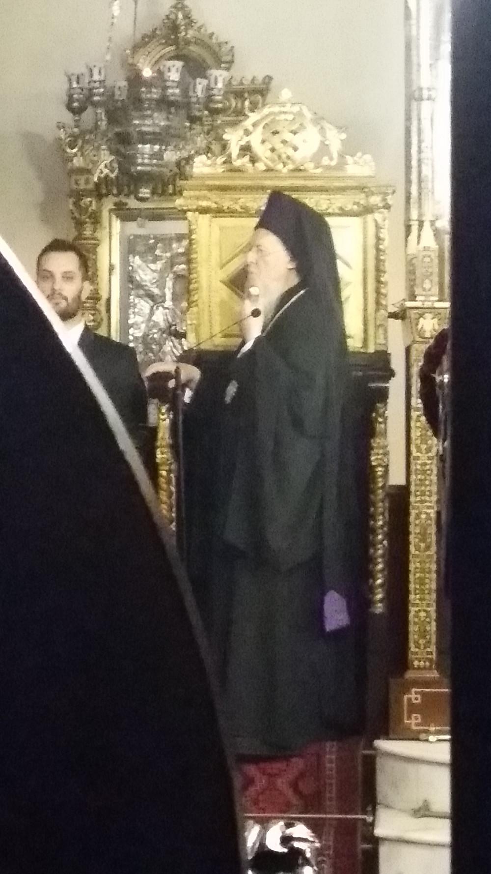 Greek Orthodox Ecumenical Patrairch Bartholomew