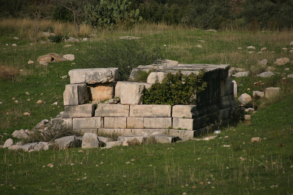 Mausoleum at roman Patara