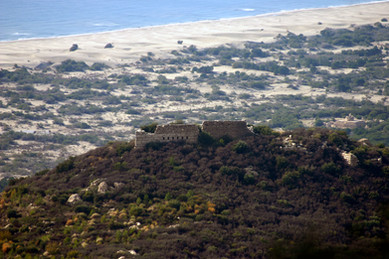 Fortress and Dunes of Patara