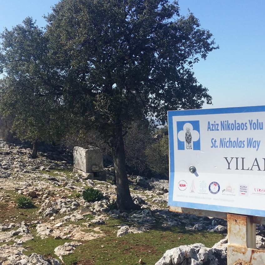 St Nicholas Ways. Yilanbasi