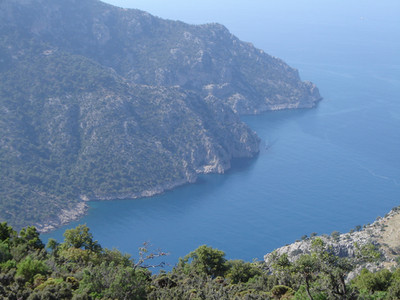 Between Gey and Bel on the Lycian way