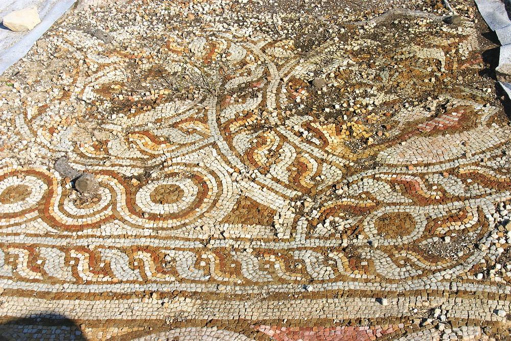 Lycian Mosaic at Phellos ancient city