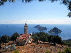 Gelidonya Lighthouse on Lycian Way