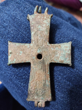 Crucifix relic found on St Paul Trail
