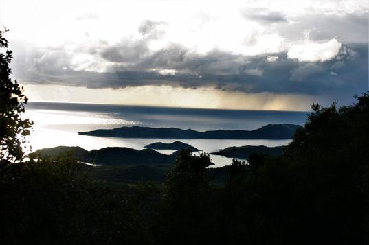 View of sKekova sound from Hoyran
