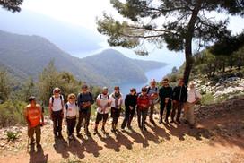 A Group on the Lycian way near Alinca