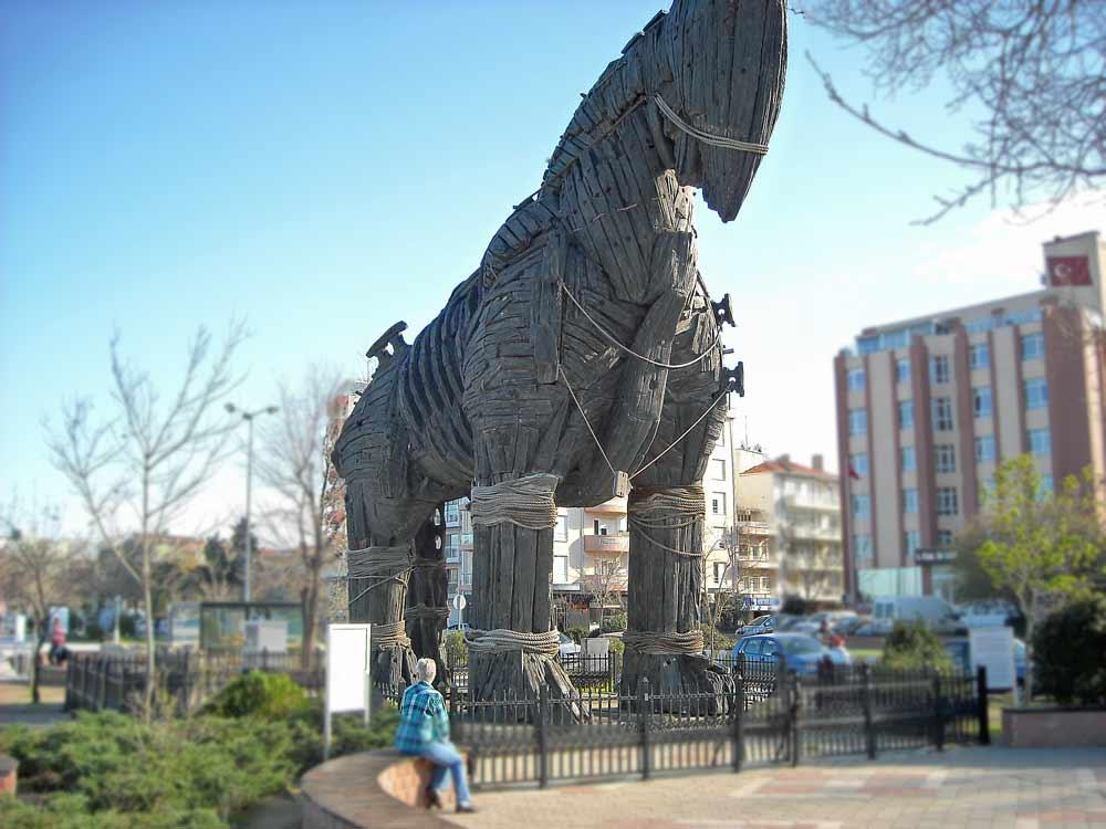 Trojan Horse on UNESCO total tour
