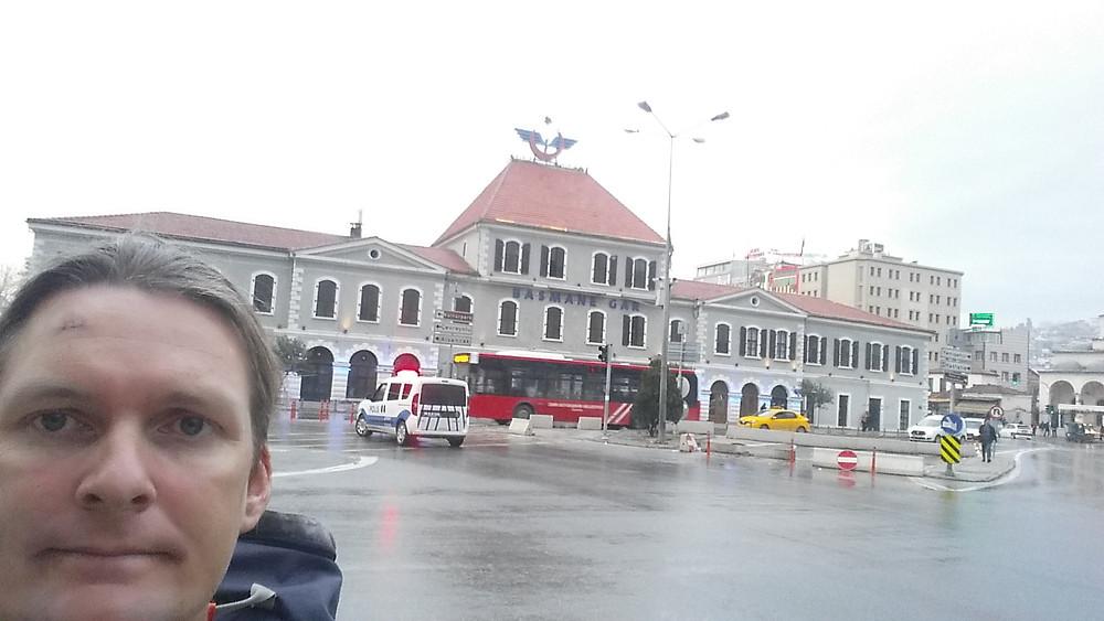 Basmane Train station in Izmir Turkey