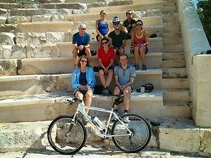 Biking tour at ancient sites of Turkey