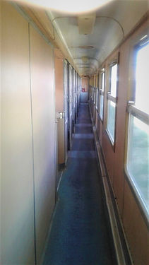 Couchette wagon on Van Tabriz train