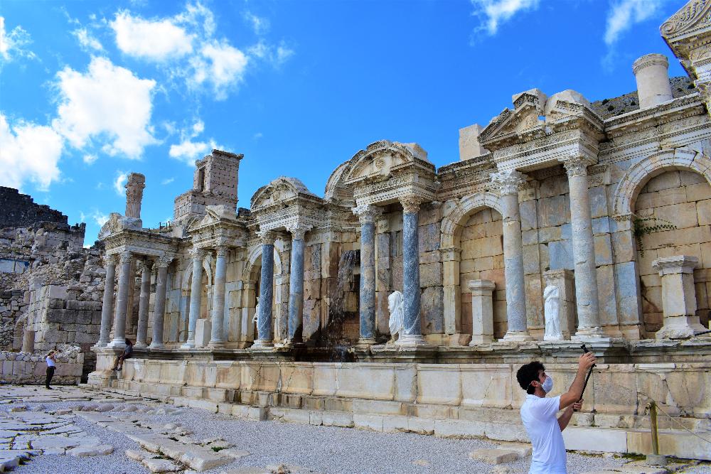 nymphaeum of Sagalassos