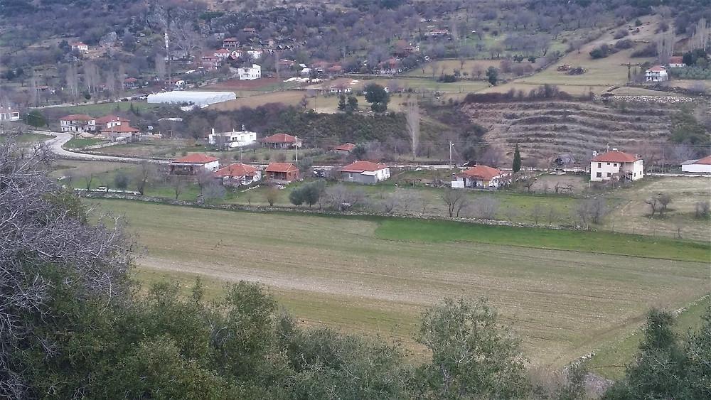 Village of Gokceoren on Lycian way