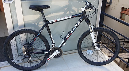 Disk brake mountain bike for rent in Turkey
