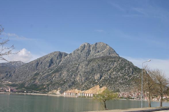 View of Mt Sivri from Eğiridir