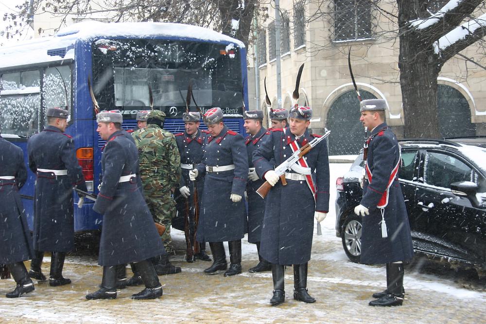 Bulgarian Guard of Honour