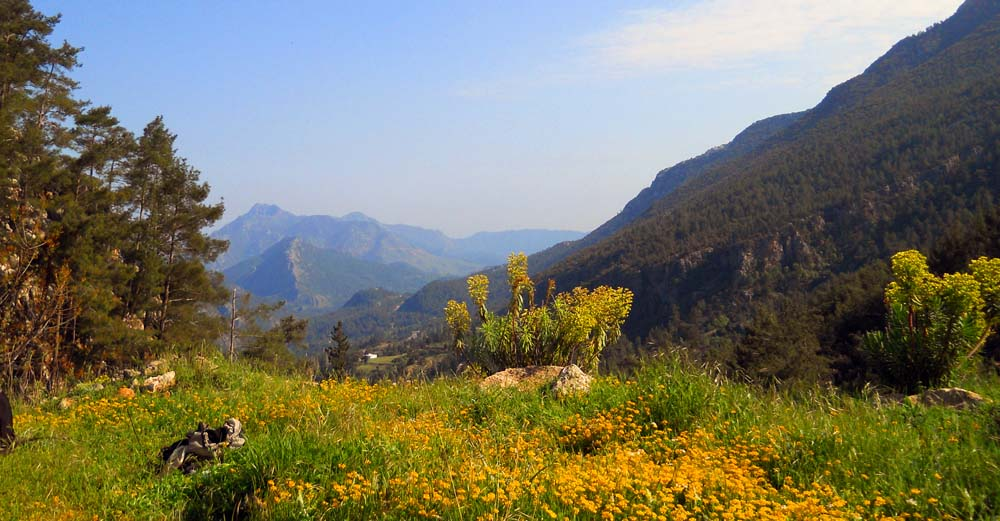 Mt Moses on Lycian Way