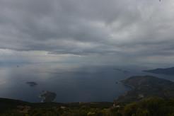 View of kaputas island for lycian trekking trail