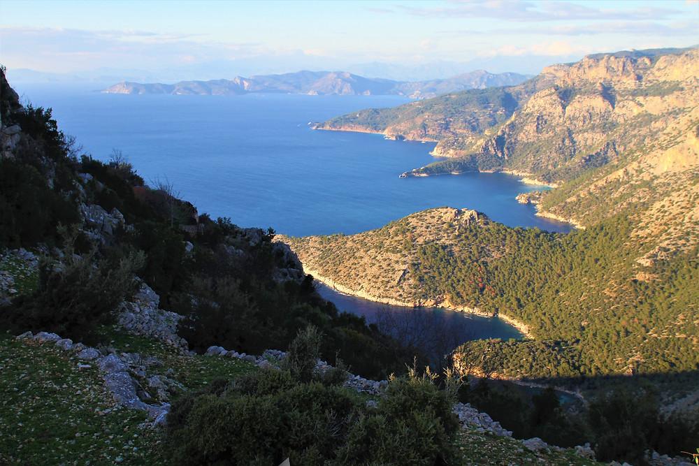 Lycian coastline, the finest in Turkey