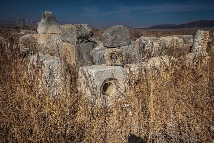 Aqueduct remains of Antioch ad Pisidiam - Thanks to Curt Bidinger