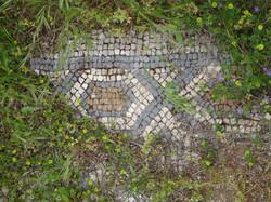Lycian Mosaic on way behind Oludeniz