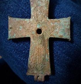 pilgrimage cross found in Turkey