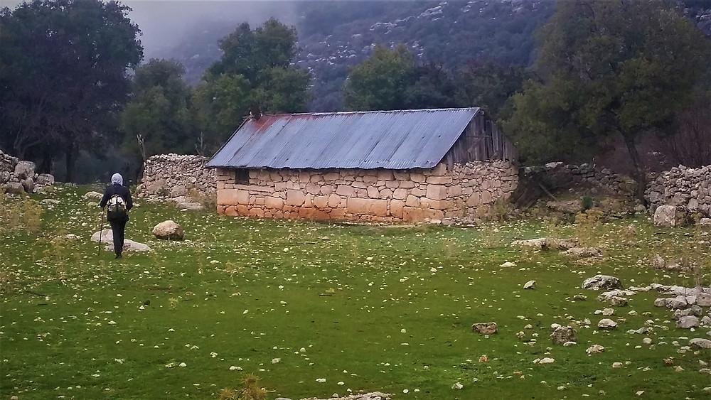 Lonely farmhose on Lycian Trekking route