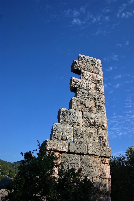 Lycian built defensive tower near bogazcik