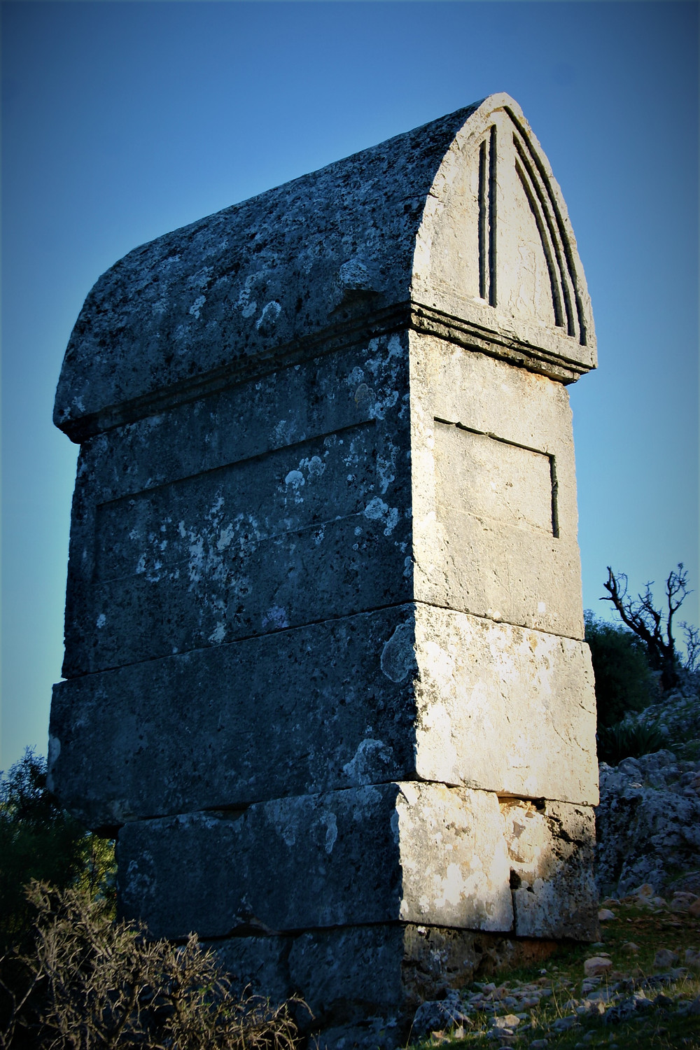 Sarcohagul of the Lycian town of Apollonia
